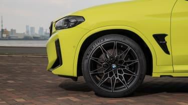 2021 BMW X4 M - front wheel