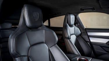 Porsche Taycan Cross Turismo front seats