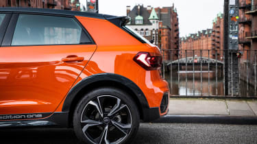 Audi A1 Citycarver hatchback rear haunches