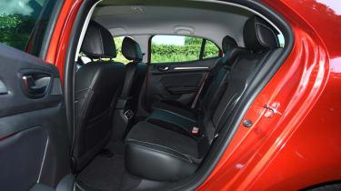 Plenty of passenger space ensures the Megane makes the family-car grade