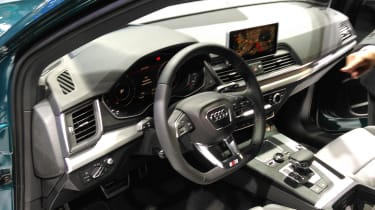 Expect the usual high-quality finish inside that Audi has become well known for