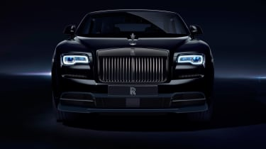 The grille surround, exhaust tips and even the 'Spirit of Ecstasy' bonnet ornament are finished in black chrome