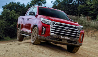 SsangYong Musso facelift off-road