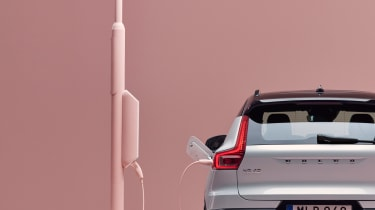 Volvo XC40 Recharge tailgate