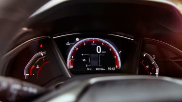 Whichever engine and trim you pick, you'll get adaptive cruise control, which can match the speed of the car in front