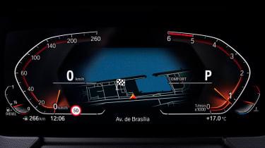 BMW 2 Series Gran Coupe saloon instrument display
