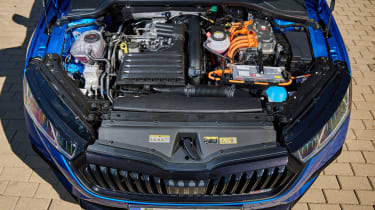 2020 Skoda Octavia vRS iV Estate engine