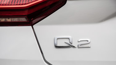 Audi Q2 SUV rear badge