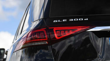Mercedes GLE SUV rear lights