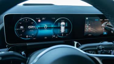Mercedes GLA SUV digital instruments