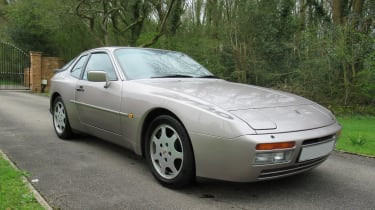 Developed from the Porsche 924 and, likewise, using a four-cylinder engine, the 944 proved that needn't hinder performance