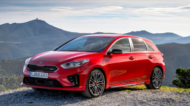 kia ceed gt front static