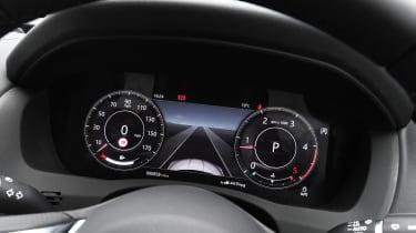 Jaguar XE saloon digital instruments