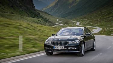 ...particularly as it has the lowest P11D value of all the non-diesel BMW 7 Series models