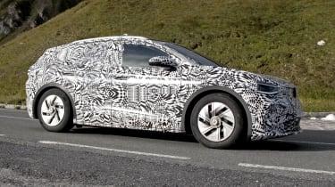 2021 Volkswagen ID.4 SUV  - side on view