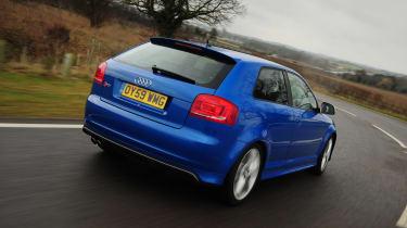 Audi S3 - rear 3/4 driving