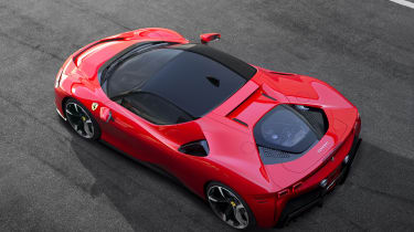 Ferrari SF90 Stradale - top view