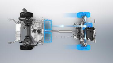 Peugeot 508 plug-in hybrid diagram