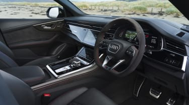 Audi RS Q8 SUV - interior