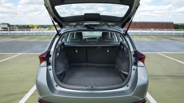 With the rear seats in place, the Touring Sports has a 507-litre boot