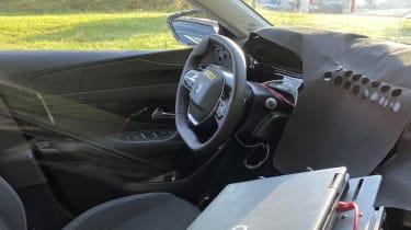 2021 Peugeot 308 prototype - interior