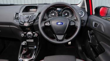 Ford Fiesta Zetec S interior