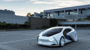 It may be about as conceptual as it's possible to be, but the Concept-i hints at Toyota's future direction