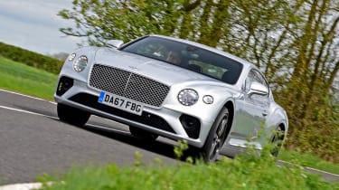 Bentley Continental GT front 3/4 cornering