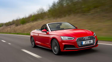 The 2017 Audi A5 Cabriolet is an all-new model but it's not a radical departure from its predecessor.