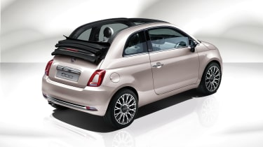 Fiat 500C Star - rear quarter