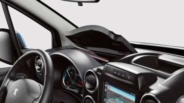 Interior is practical and robust