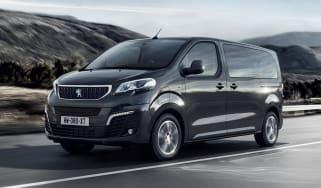 Peugeot e-Traveller driving