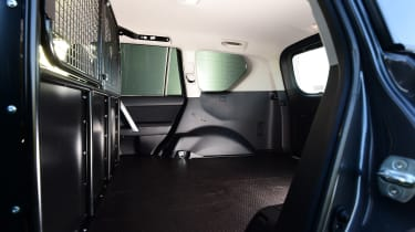 Toyota Land Cruiser Utility cargo area