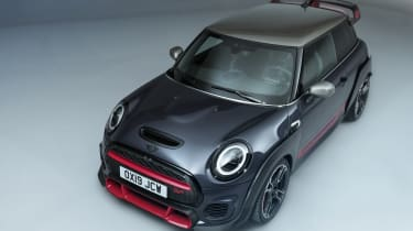 MINI John Cooper Works GP - front 3/4 angled view studio