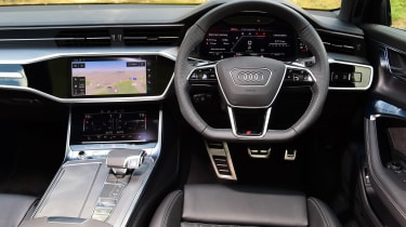 Audi S6 Avant estate interior