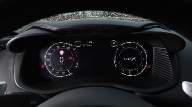 Aston Martin DBX prototype dials