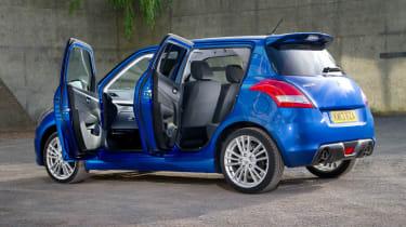 suzuki swift sport five door hatchback 2013 doors