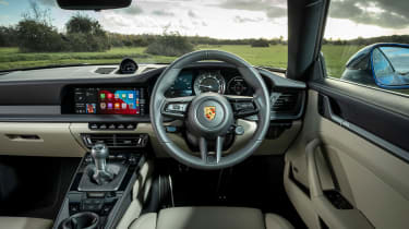 Porsche 911 coupe interior