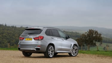 Every other X5 has four-wheel-drive as standard, with 3.0-litre diesels offering a blend of power and economy