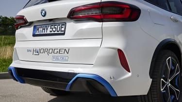 BMW iX5 Hydrogen - rear details