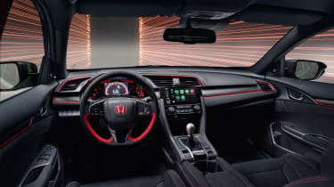 Honda Civic Type R Sport Line interior