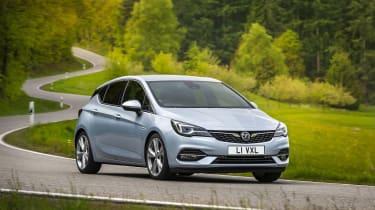 2019 Vauxhall Astra hatchback - dynamic