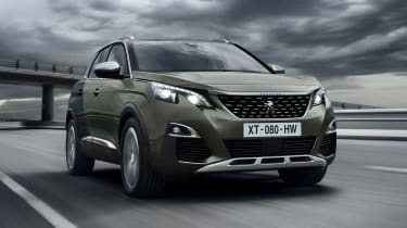 The Peugeot 3008 makes use of the latest weight-saving techniques