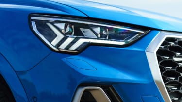 Audi Q3 Sportback SUV - headlight