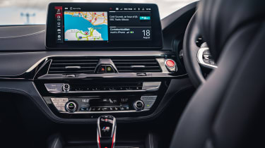 2021 BMW M5 Competition saloon - infotainment