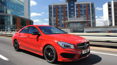 Enthusiasts will be attracted to the CLA 45 AMG high-performance model