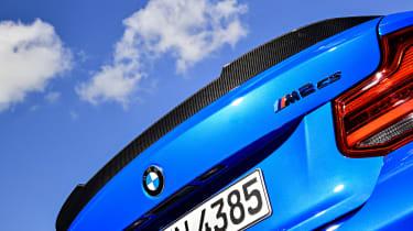 BMW M2 CS spoiler