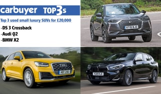 Top 3 used small luxury SUVs for £20,000 - hero