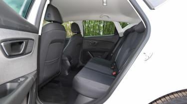 2017 SEAT Leon - rear seats