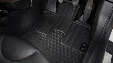 MINI Clubvan estate 2013 floor mat detail